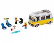 Set 31079-GB Sunshine Surfer Van gebruikt deels gebouwd *B036