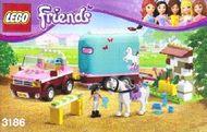 Set 3186 - Friends: Emma's Horse Trailer- Nieuw