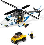 Set 3658-G - Town: Police Helicoper- gebruikt