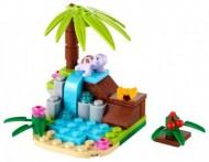 Set 41041-G - Friends: Turtle's Little Paradise D/H/97%- gebruikt