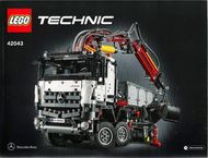 Set 42043 Technic Mercedes-Benz Arocs 3245-Nieuw
