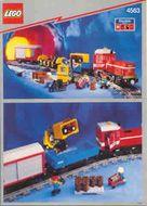 Set 4635 BOUWBESCHRIJVING- Load and Hail train ingescheurde kaft op binding Treinen gebruikt loc LOC M1