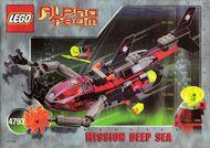 Set 4793 BOUWBESCHRIJVING- Alpha Team- Ogel Sub Shark Alpha Team gebruikt loc