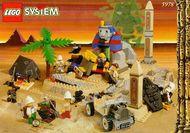 Set 5978 BOUWBESCHRIJVING- Sphinx Secret surprise Adventures gebruikt loc