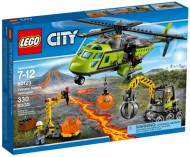Set 60123 - Town: Volcano Supply Helicopter- Nieuw