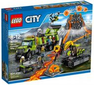 Set 60124 - Volcano Explorers: Volcano Exploration Base- Nieuw
