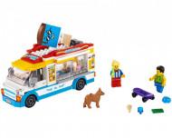 Set 60253-GB Ice-cream truck gebruikt deels gebouwd *B036