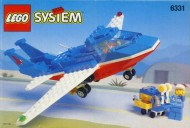 Set 6331 BOUWBESCHRIJVING- Patriot Jet gebruikt loc LOC M6