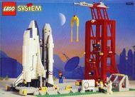 Set 6339 BOUWBESCHRIJVING-  Shuttle Launch Pad Ruimtevaart gebruikt loc