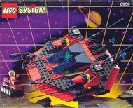 Set 6939 BOUWBESCHRIJVING- Saucer Centurion Spyrius gebruikt loc