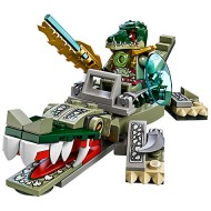Set 70126 - Legends of Chima: Crocodile Legend Beast zonder doos- gebruikt