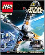 Set 7180 - Star Wars: B-Wing at Rebel Control Center- Nieuw