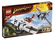 Set 7198 - Indiana Jones: Fighter Plane Attack- Nieuw