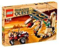 Set 7325 - Pharaoh's Quest: Cursed Cobra Statue- Nieuw