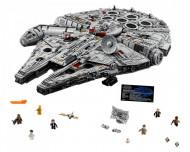 Set 75192-GB Millennium Falcon- UCS gebruikt deels gebouwd *B036