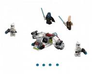 Set 75206-GB Jedi and Clone Troopers Battle Pack gebruikt deels gebouwd *B036
