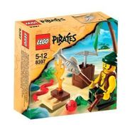 Set 8397-G - Pirates: Pirate Survival- gebruikt