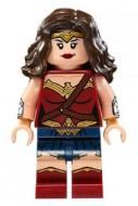 sh221 Wonder Woman- Donkerbruin haar NIEUW loc