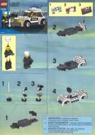 Set 7236 BOUWBESCHRIJVING- Police Car Belville gebruikt loc