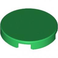 14769-6 Tegel 2x2 rond met nopgat achterkant groen NIEUW *1L0000