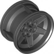 15038-11 Wiel 56mm/34mm 6 pingaten ALLEEN VELG zwart NIEUW *5W000