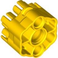 18588-3 Zes kogels snelschieter geel NIEUW *0L0000