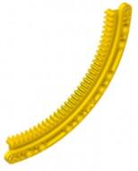 24121-3 Technic, Tandwiel Rack 11x11 gebogen geel NIEUW *0L000