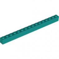 2465-39 Steen 1x16 turquoise, donker NIEUW *5K0000