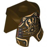 2587pb29-77 Harnas- lijf en benen Koning Theoden (LOR) grijs, donkerparel NIEUW *2B000