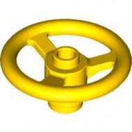 2819-3 Technic, stuur klein geel NIEUW *0L0000