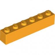 3009-110 Steen 1x6 oranje, lichthelder NIEUW *5K0000