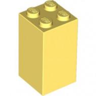 30145-103 Steen 2x2x3 geel, lichthelder NIEUW *5K0000