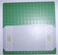 30225pb02-6G Basisplaat 16x16 met weg met vrachtauto pictogram groen gebruikt *4T000
