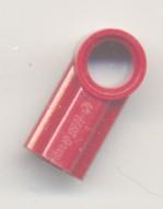 32013-59 Technic, Hoekverbinding #1 rood, donker NIEUW *0B016/D10