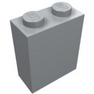 3245b-88 Steen 1x2x2 met ashouder binnen grijs, licht (blauwachtig) NIEUW *2-4