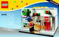 40145 LEGO Brand Store (deukje in doos) Wit NIEUW loc