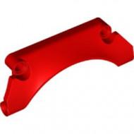 42531-5 Technic, paneel spatbord 9x2x2 rood NIEUW *