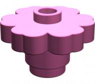 4728-47G Bloem 2x2 Roze, donker gebruikt loc