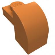 6091-150 Steen 2x1 met afgeronde kop en nop caramel, midden NIEUW *1L0000