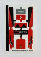 76895stk01 STICKER 76895 Ferrari F8 Tributo NIEUW *0S0000