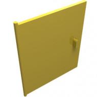 838-3G Deur voor kastje 837 geel gebruikt *