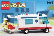 Set 6666 BOUWBESCHRIJVING- Ambulance Helikopter gebruikt loc