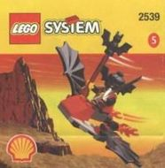 Set 2539 - Castle: Fright Knights Flying Machine- Nieuw