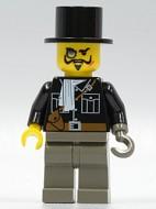 adv025G Lord Sam Sinister met hoge hoed gebruikt loc