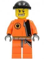 agt008G Helper Agent Chase, oranje pak gebruikt *0M0000