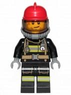 cty1004G Brandweerman met rode helm gebruikt loc