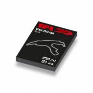 CUS1038 Formule 1 circuit België wit NIEUW loc Motorsport