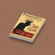 CUS1064 Le Chat Noir Wit NIEUW loc