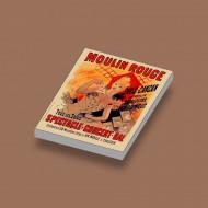 CUS1083 Moulin Rouge Spectacle Concert wit NIEUW