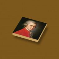 CUS4014 Tegel 2x2 Portret Mozart crème,donker NIEUW *0A000